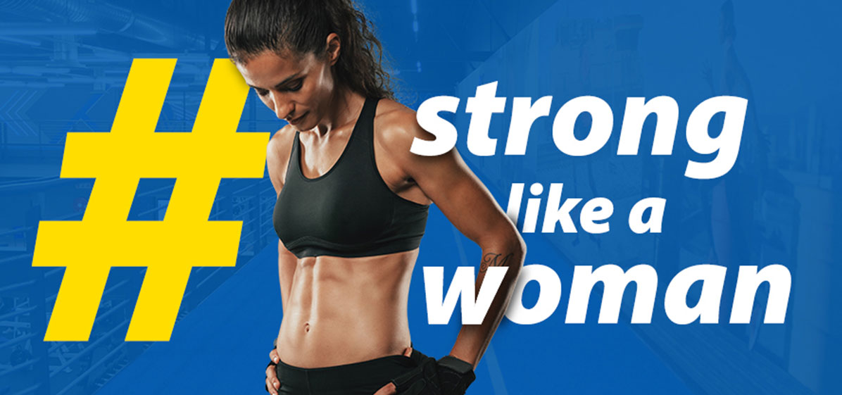 Strong like a woman